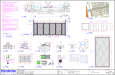 Shop drawing to BD minor works A&A