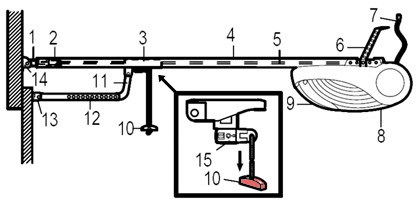 commercial door openers wiring diagram